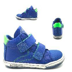 Shoesme sneaker met 2 plakkers